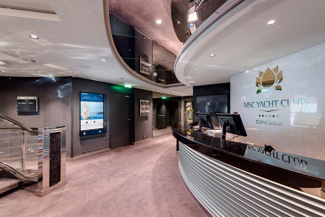MSC Yacht Club: Concierge